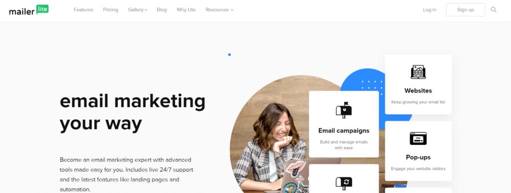 Mailerlite: Constant Contact Alternative