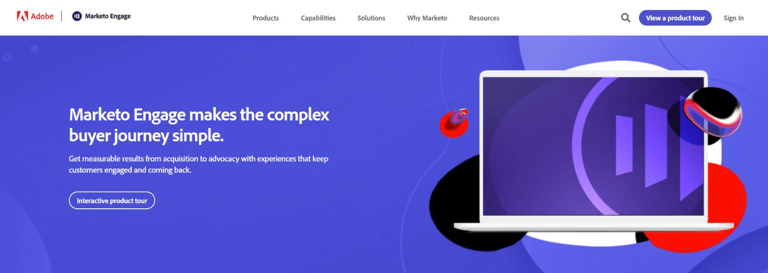 Marketo: Marketing software