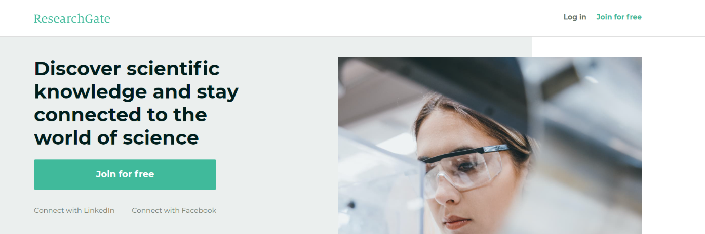 Researchgate: Tool for researchers