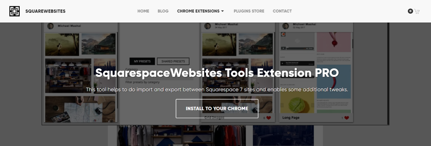 Squarespace website tools pro: Squarespace plugin