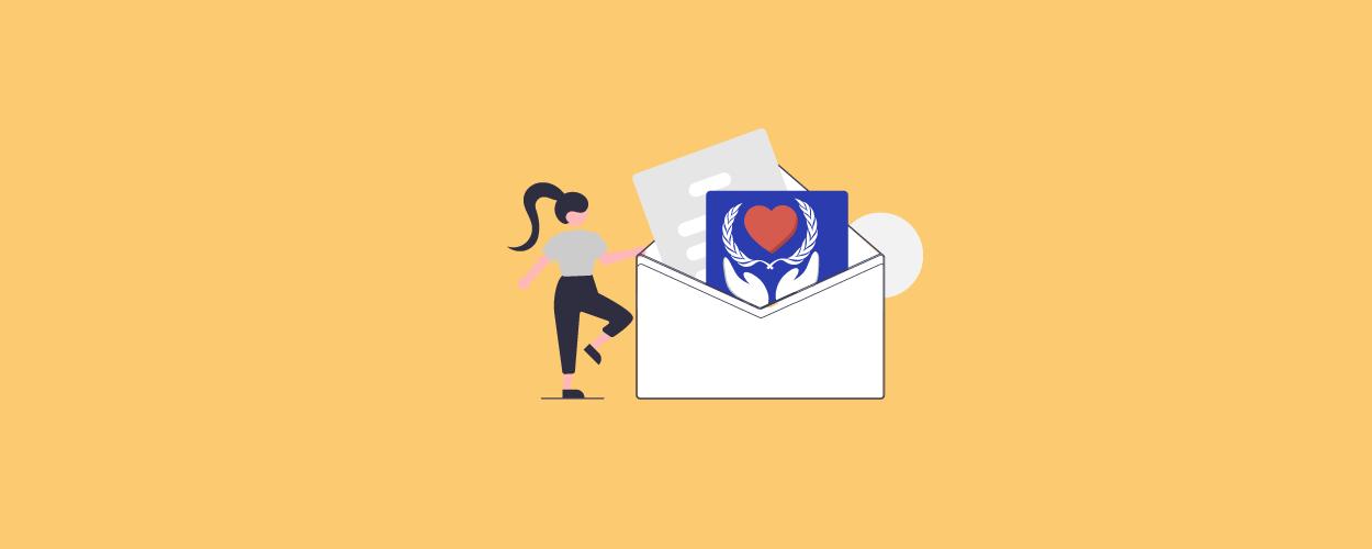 Nonprofit newsletter templates - blog banner