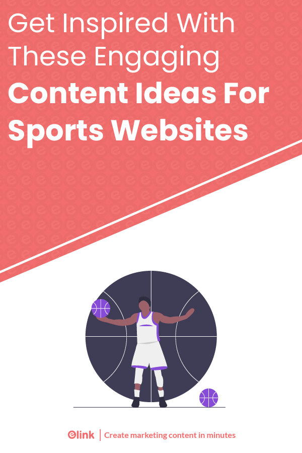 Engaging content ideas for sports websites - pinterest