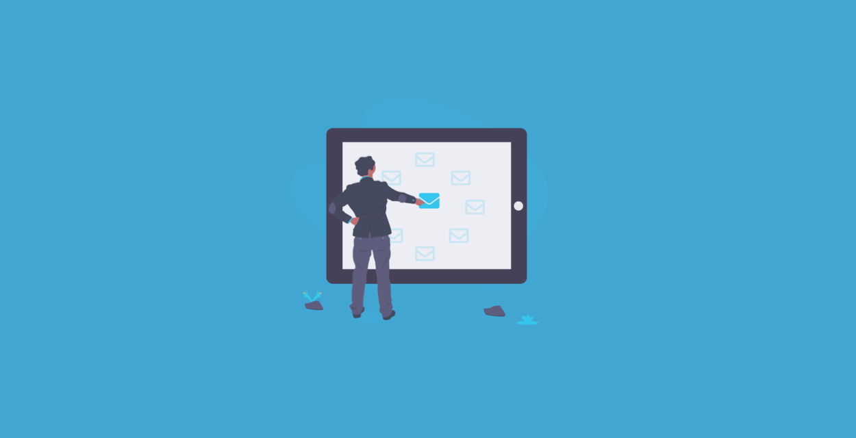 Business newsletter templates - blog banner