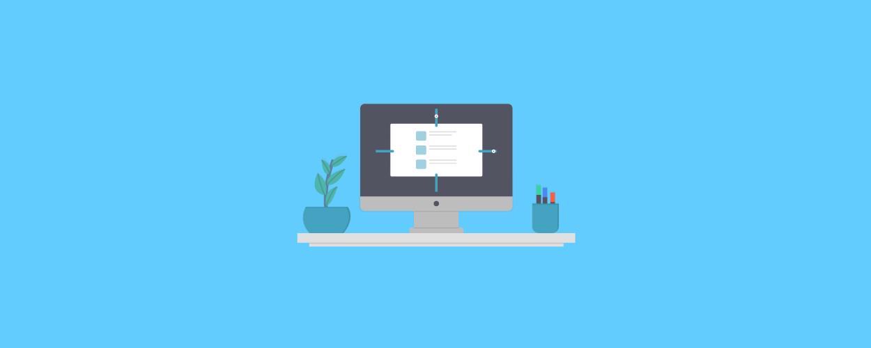 Responsive web design - blog banner