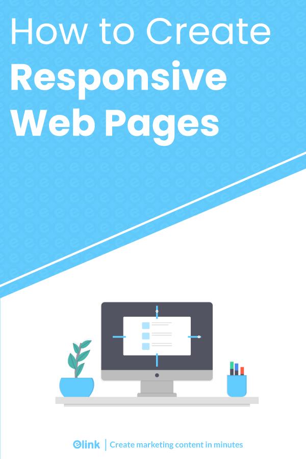 Responsive web design - pinterest