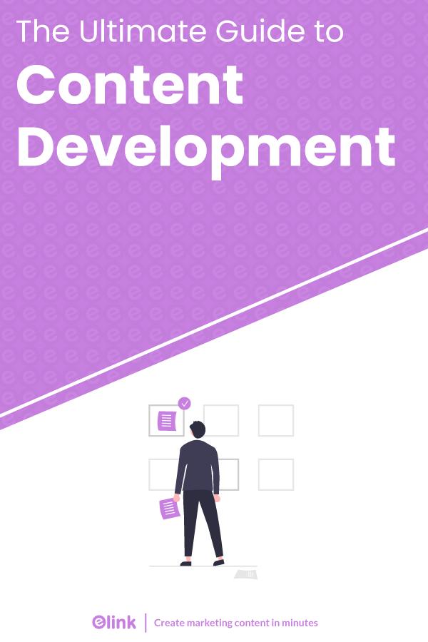 Content development - Pinterest