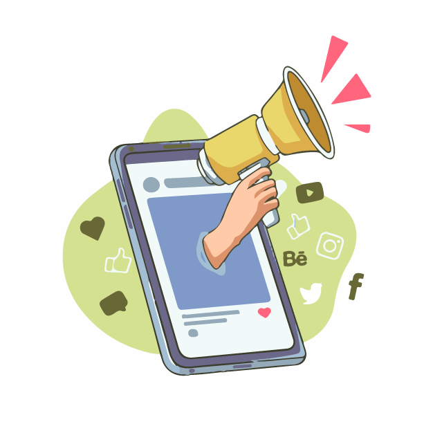 Promotion on social media