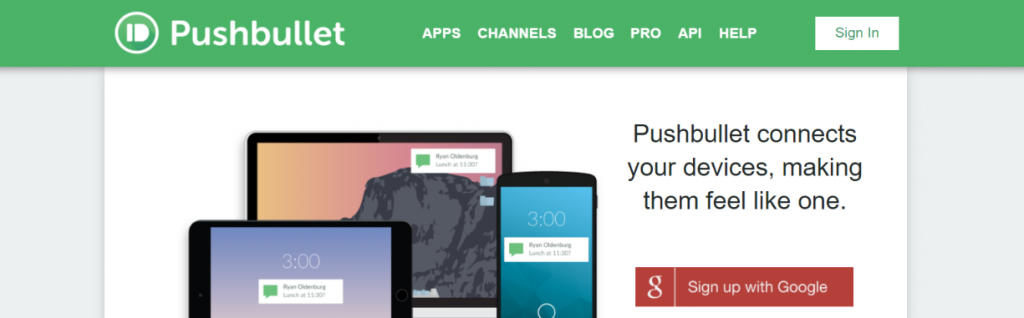 Pushbullet: Chrome extensions for productivity