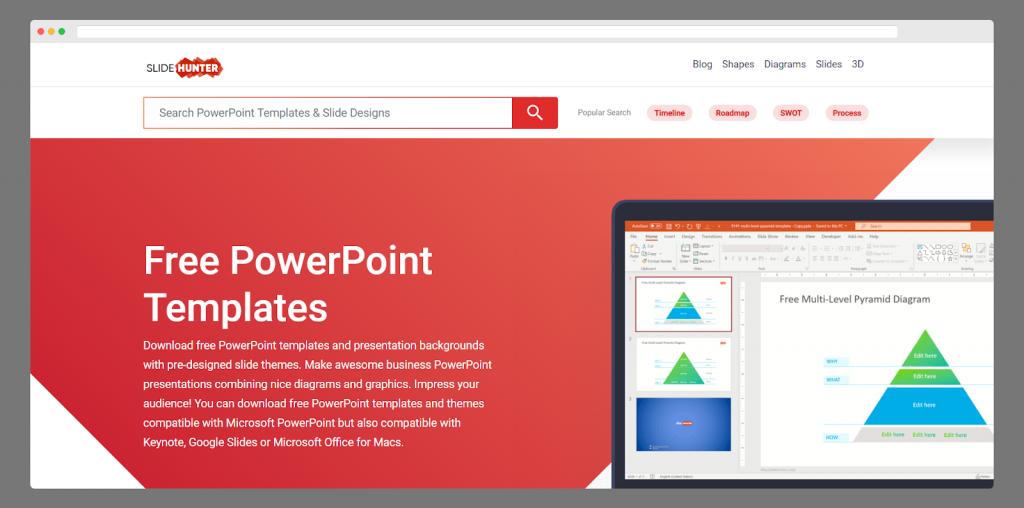 Slidehunter powerpoint templates