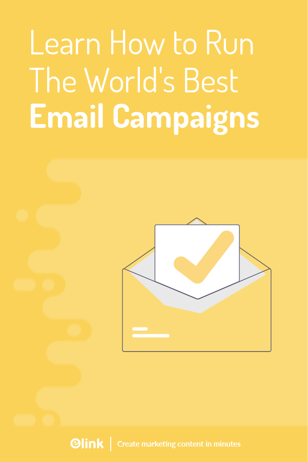 Email campaigns - pinterest