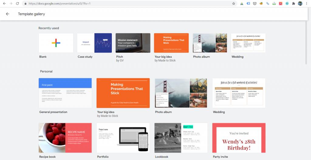 Google slide free powerpoint templates