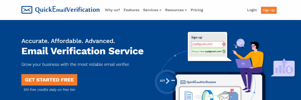 Quick email verification: Email verification tool