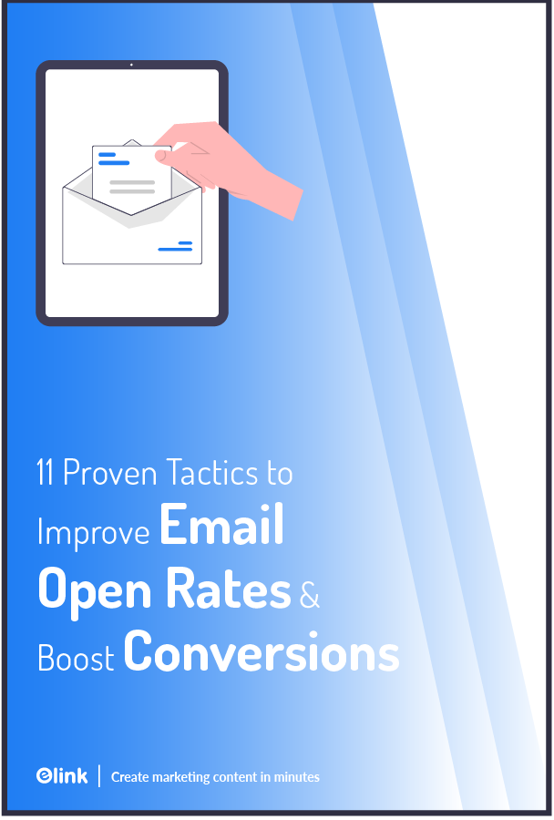 Improve email open rates - Pinterest