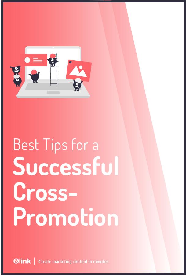 Cross promotion - pinterest