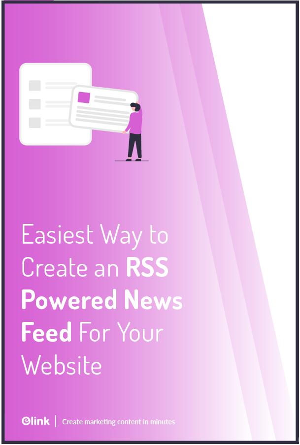 Rss news feed - pinterest