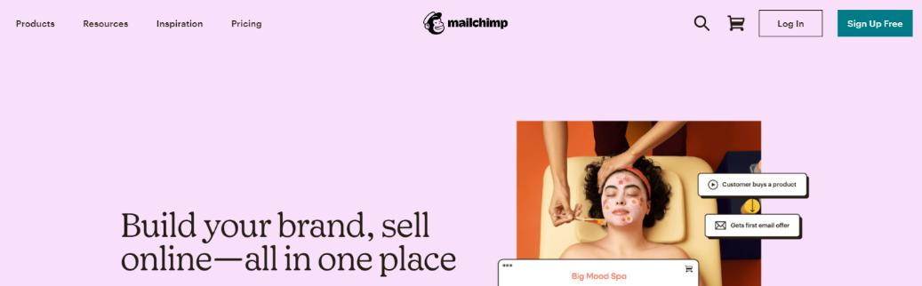 Mailchimp: Squarespace intergration for email marketing of your website