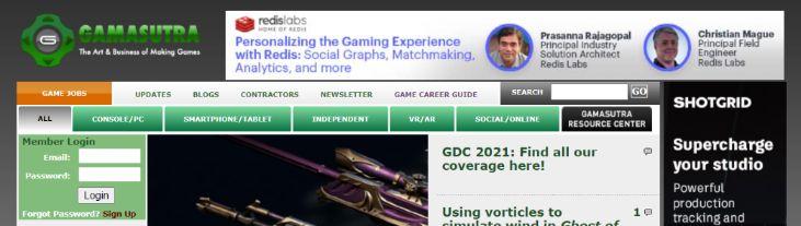 Gamasutra: Gaming blog and website