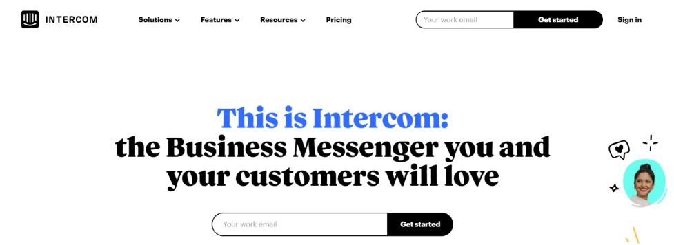 Intercom: Squarespace intergration for communication