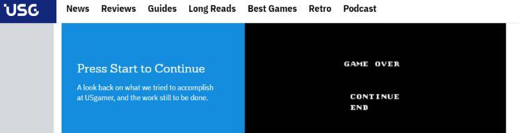 Usgamer: Gaming blog and website
