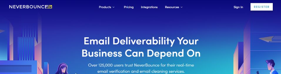 Neverbounce: Email cleaner