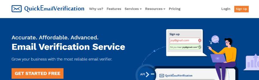 Quickemalverification: Email cleaner