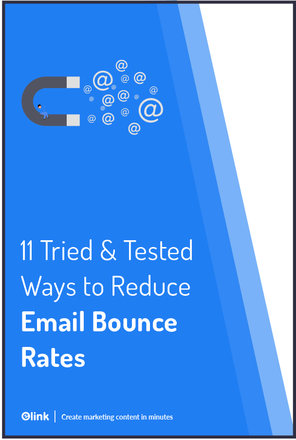 Email bounce rates - Pinterest