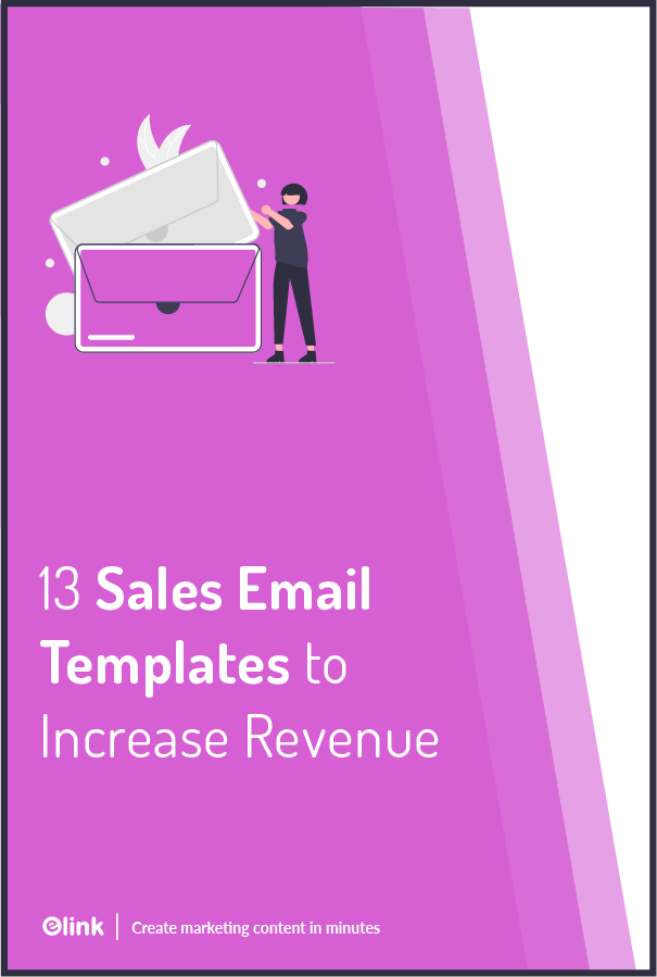 Sales email templates - Pinterest