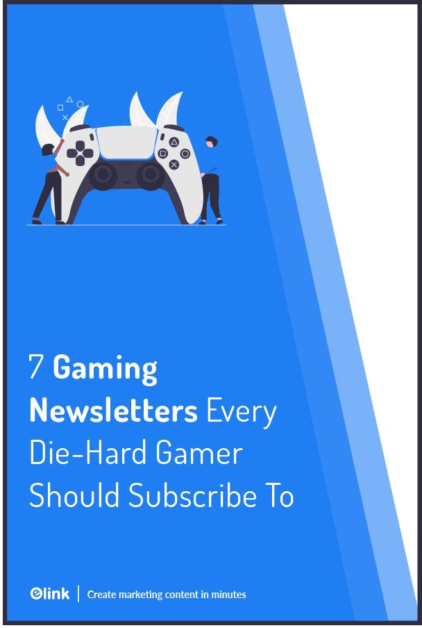 Gaming newsletters - Pinterest