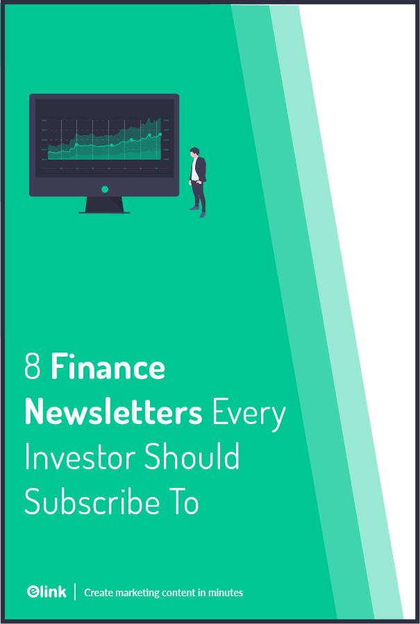 Finance newsletters - Pinterest