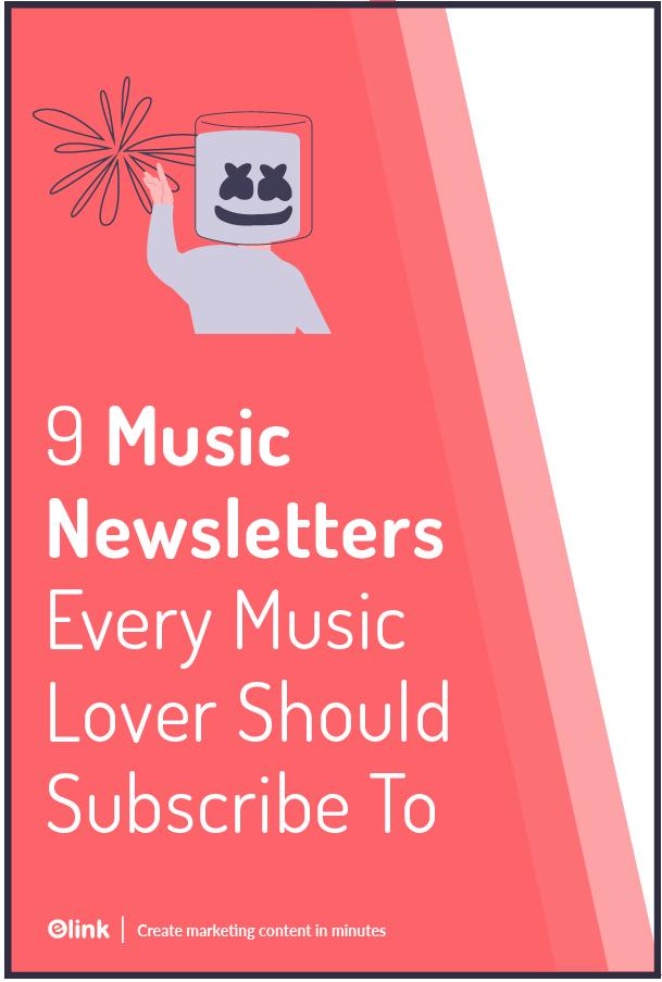 Music newsletters - Pinterest