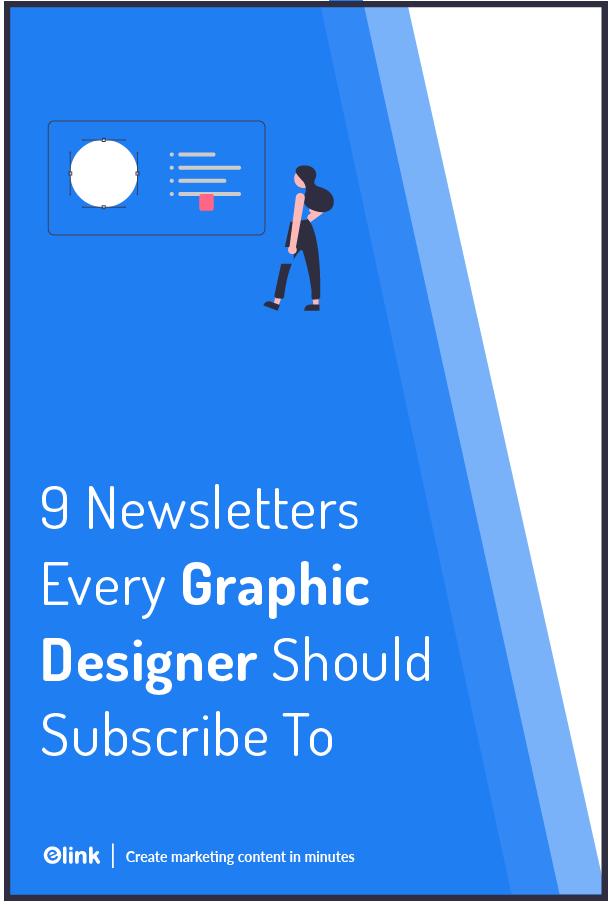 Graphic design newsletters - Pinterest