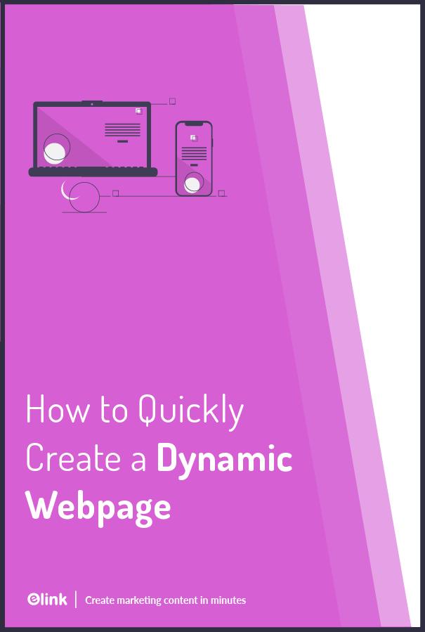 Dynamic Webpage - Pinterest