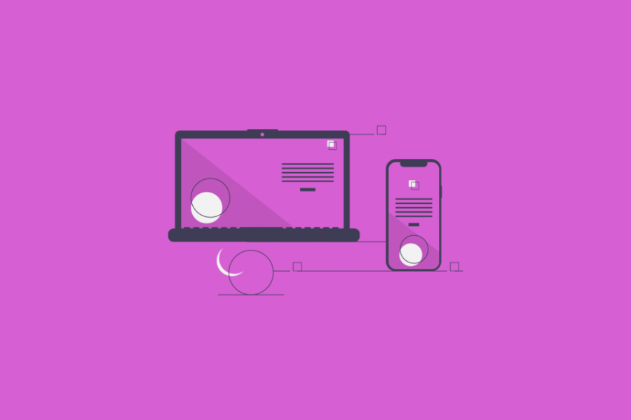 Dynamic Webpage - blog banner