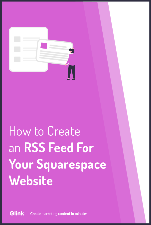 Squarespace rss feed - pinterest