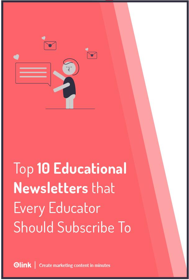 Educational newsletter - pinterest