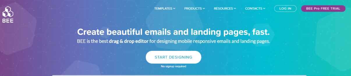 Bee: Email template builder