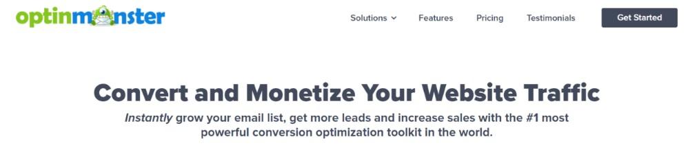 Optinmonster: WordPress ecommerce plugin