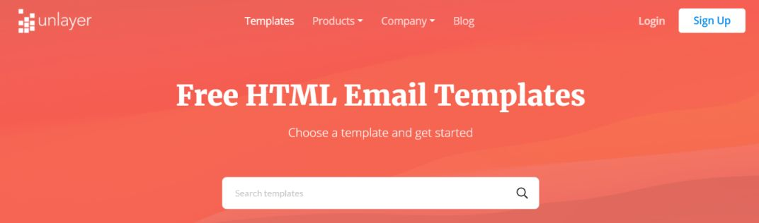 Unlayer: Email template builder