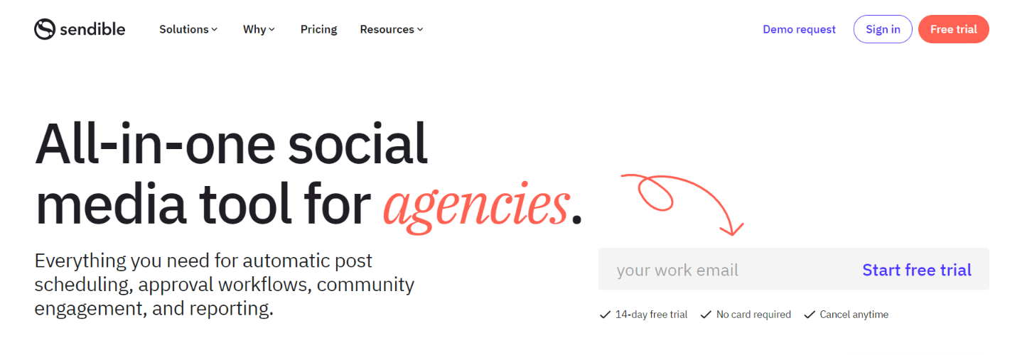 Sendible: Social media tool