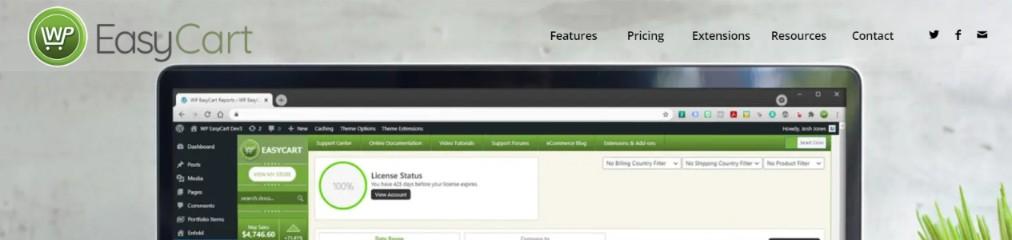 Wp easy cart: WordPress ecommerce plugin