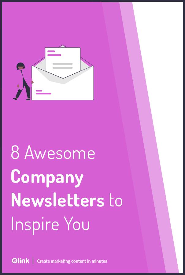 Company newsletter - Pinterest