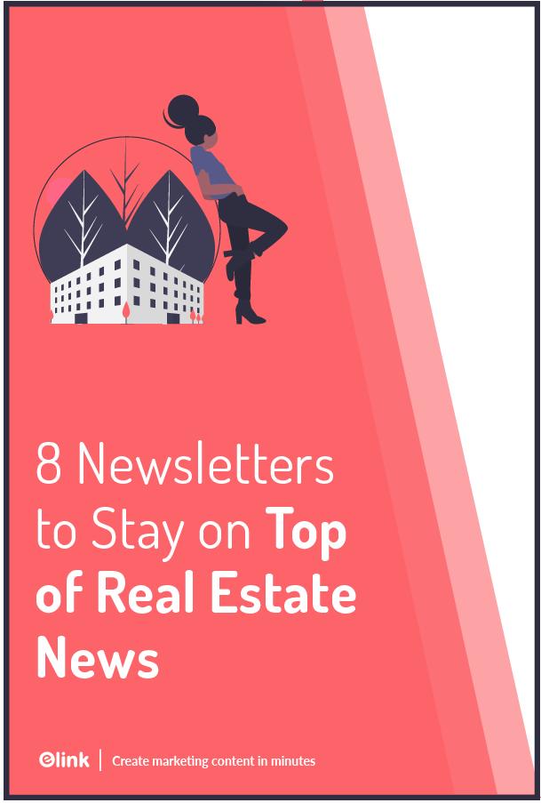 Real estate newsletter - Pinterest