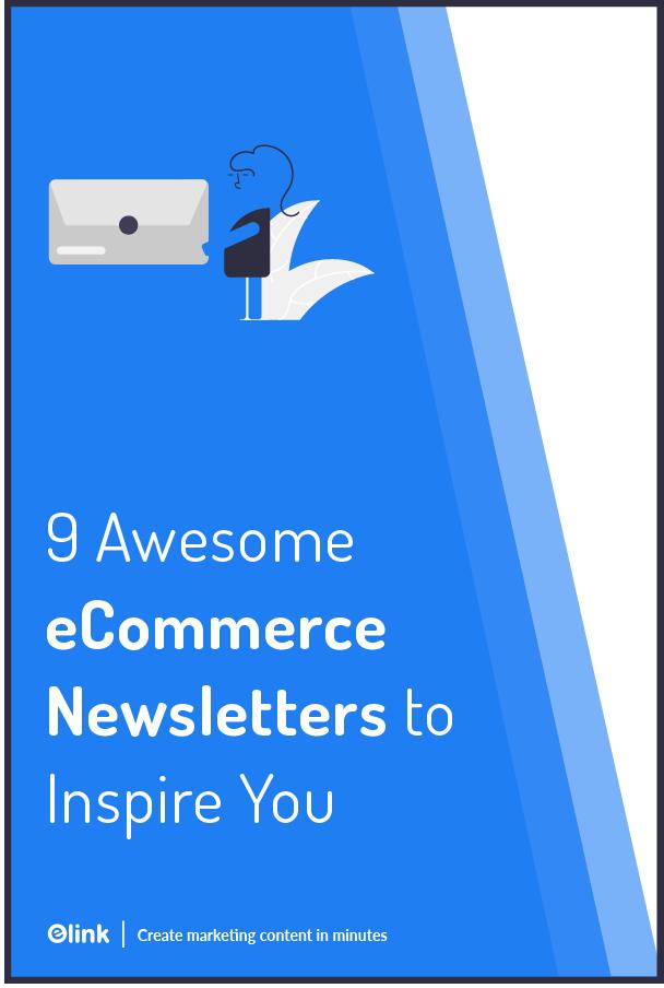 Ecommerce newsletter - Pinterest
