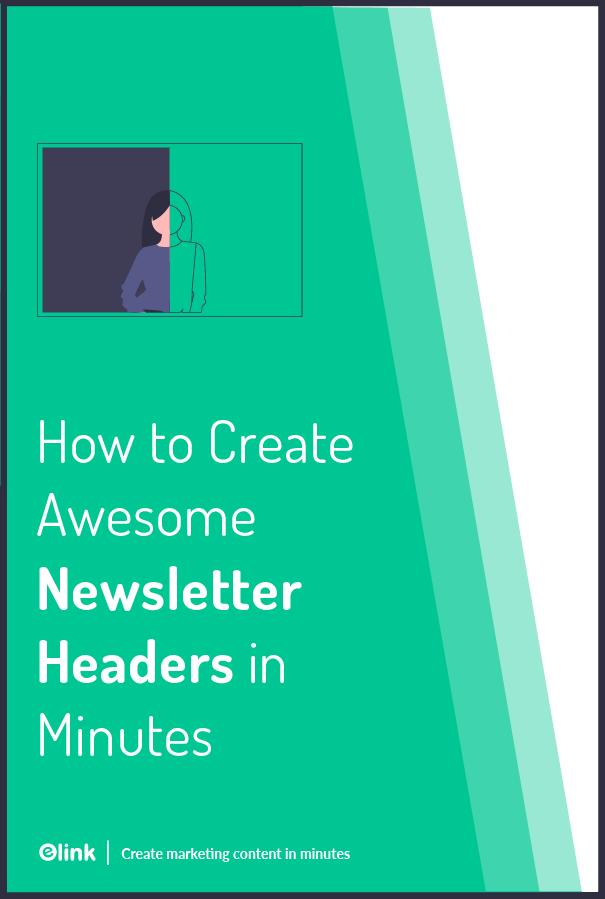 Newsletter header - pinterest
