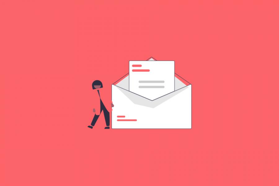 Editable newsletter templates - blog banner